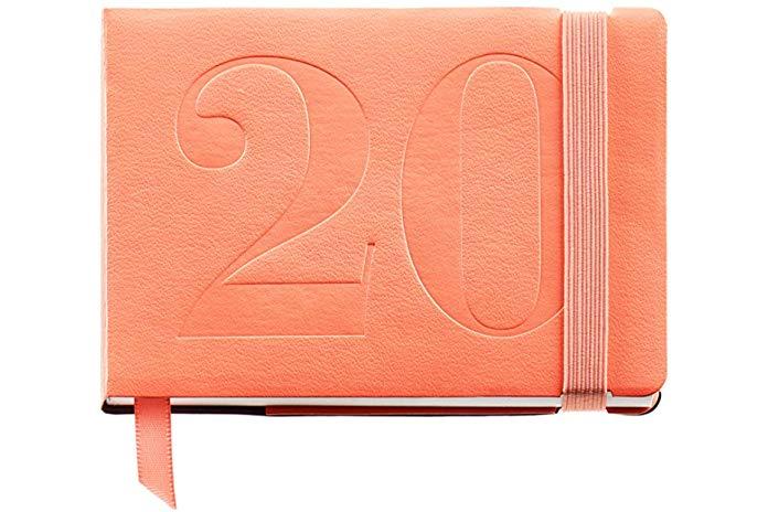 Castellano Agenda 2020 Miquelrius 31199 Semana Vista Horizontal 90 x 140 mm Palm Beach de bolsillo